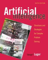 Cover image for Artificial intelligence : structures and strategies for complex problem solving