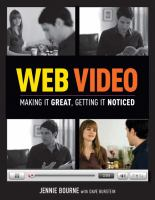 Cover image for Web video : making it great, getting it noticed