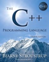 Cover image for The C++ programming language