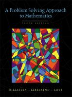 Cover image for Problem solving approach to mathematics