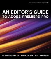 Cover image for An editor's guide to Adobe Premiere Pro