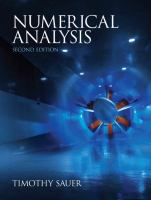 Cover image for Numerical analysis