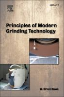 Cover image for Principles of modern grinding technology