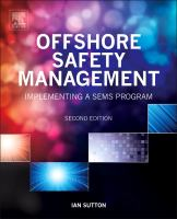 Cover image for Offshore safety management : implementing a SEMS program