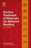 Cover image for Surface treatment of materials for adhesive bonding