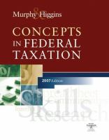 Cover image for Concepts in federal taxation