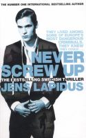 Cover image for NEVER SCREW UP