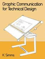 Cover image for Graphic communication for technical design