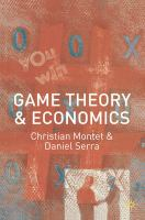 Cover image for Game theory and economics