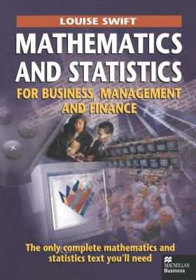 Cover image for Mathematics and statistics for business, management and finance