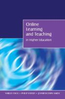 Cover image for Online learning and teaching in higher education