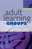 Cover image for Adult learning in groups