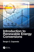 Cover image for Introduction to Renewable Energy Conversions