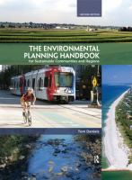 Cover image for THE ENVIRONMENTAL PLANNING HANDBOOK : FOR SUSTAINABLE COMMUNITIES AND REGIONS