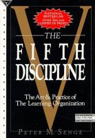 Cover image for The fifth discipline : the art and practice of the learning organization