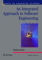 Cover image for An integrated approach to software engineering