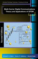 Cover image for Multi-carrier digital communications : theory and applications of OFDM