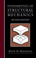 Cover image for Fundamentals of structural mechanics