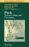 Cover image for Pitch : neural coding and perception