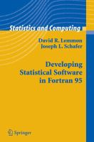 Cover image for Developing statistical software in Fortran 95