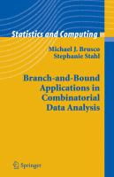 Cover image for Branch-and-bound applications in combinatorial data analysis