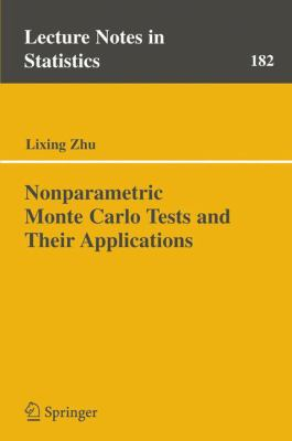 Cover image for Nonparametric Monte Carlo tests and their applications
