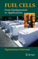 Cover image for Fuel cells : from fundamentals to applications