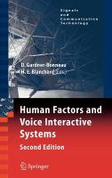 Cover image for Human factors and voice interactive systems