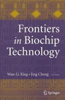 Cover image for Frontiers in biochip technology