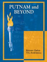 Cover image for Putnam and beyond