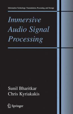 Cover image for Immersive audio signal processing