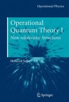 Cover image for Operational quantum theory
