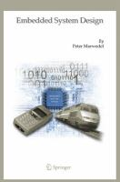 Cover image for Embedded system design