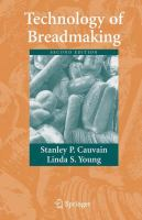 Cover image for Technology of Breadmaking