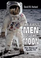 Cover image for The first men on the moon : the story of Apollo 11