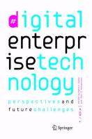 Cover image for Digital Enterprise Technology Perspectives and Future Challenges