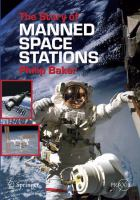 Cover image for The story of manned space stations : an introduction