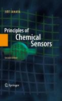 Cover image for Principles of chemical sensors