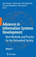 Cover image for Advances in information systems development : new methods and practice for the networked society