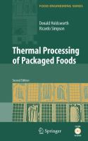 Cover image for Thermal processing of packaged foods