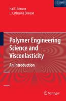 Cover image for Polymer engineering science and viscoelasticity : an introduction