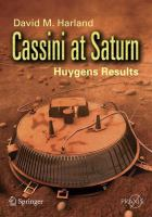 Cover image for Cassini at Saturn : Huygen results