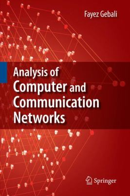 Cover image for Analysis of computer and communication networks