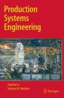 Cover image for Production systems engineering