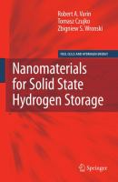 Cover image for Nanomaterials for solid state hydrogen storage