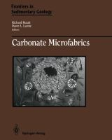 Cover image for Carbonate microfabrics