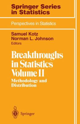 Cover image for Breakthroughs in statistics