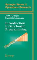 Cover image for Introduction to stochastic programming