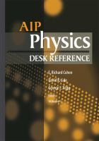 Cover image for AIP physics desk reference