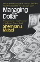 Cover image for Managing the dollar